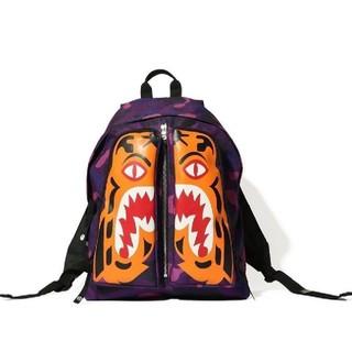 アベイシングエイプ(A BATHING APE)のbape COLOR CAMO TIGER DAY PACK (Purple)(バッグパック/リュック)