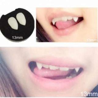 【即購入OK】イベント付け牙 15mm ハロウィン(衣装一式)