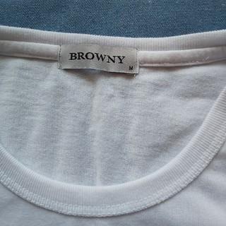 ブラウニー(BROWNY)の【used】BROWNY メンズ肌着 M(シャツ)