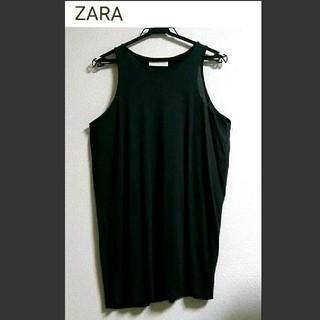 ZARA - ZARA 定価3,490円 ゆったり レーヨンタンクトップ ワンピース