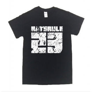 23番号 イラスト ロゴ 半袖 Tシャツ git18(Tシャツ/カットソー(半袖/袖なし))