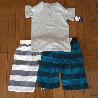 西松屋 - Tシャツ&ハーフパンツセット 新品未使用