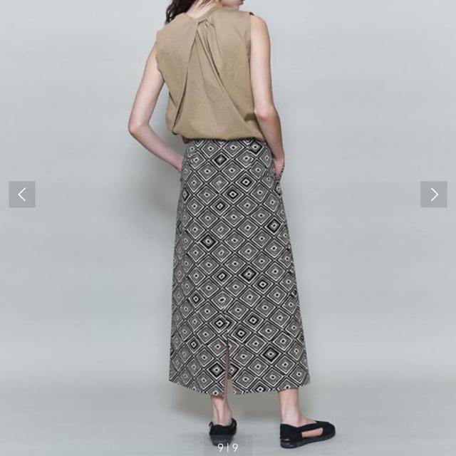 BEAUTY&YOUTH UNITED ARROWS(ビューティアンドユースユナイテッドアローズ)の<6(ROKU)>PRINT LONG SKIRT/スカート レディースのスカート(ロングスカート)の商品写真