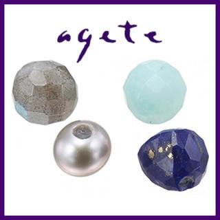 agete - 【アガット】希少‼️スライドチャーム 4石セット