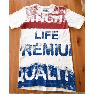 Shingha Life Tシャツ(ベージュ)(Tシャツ/カットソー(半袖/袖なし))