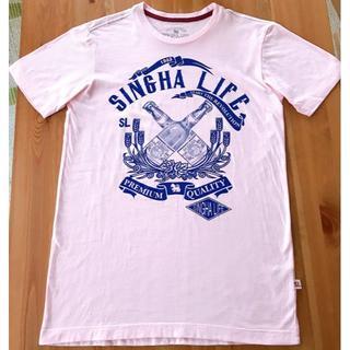 Shingha Life Tシャツ(ピンク)(Tシャツ/カットソー(半袖/袖なし))