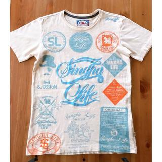 Singha LifeTシャツ(ベージュ)(Tシャツ/カットソー(半袖/袖なし))