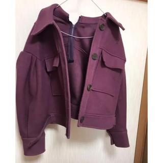 MURUA - murua むらさき色 コート