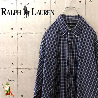 ラルフローレン(Ralph Lauren)の【超レア】ラルフローレン BLAKE チェック シャツ ボタンダウン(シャツ)
