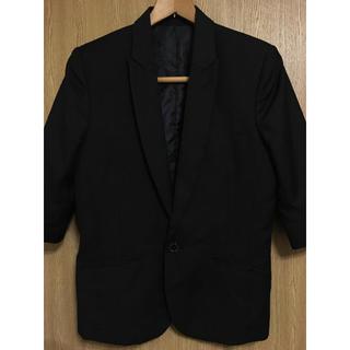 フーガ(FUGA)のFUGA 七分袖テーラードジャケット(テーラードジャケット)