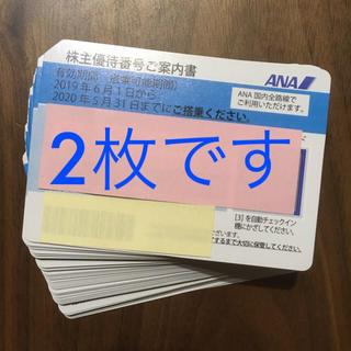 ANA(全日本空輸) - ANA 株主優待券 2枚セット③