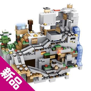 Lego - マインクラフト 山の洞窟 LEGO.レゴ互換品 1000pピース 新品、未開封