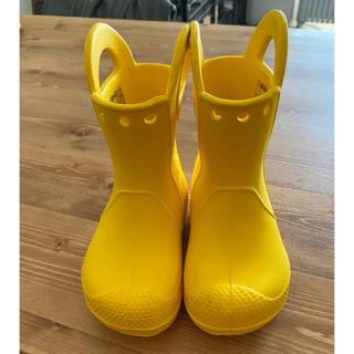 crocs - 美品!クロックス 長靴 レインブーツ