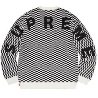 Supreme - 新品 supreme シュプリーム back logo sweater  L