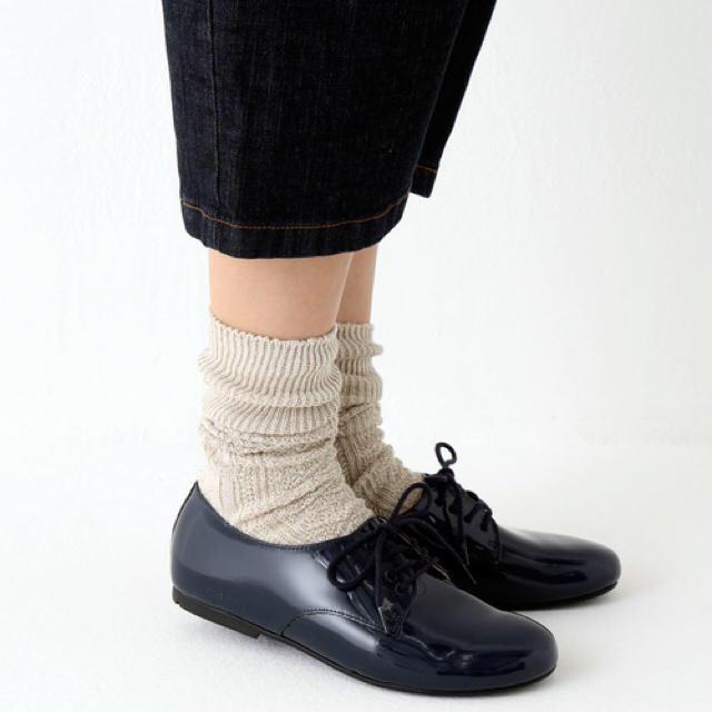 BIRKENSTOCK(ビルケンシュトック)のビルケンシュトック ソーンダース  37サイズ ネイビー レディースの靴/シューズ(ローファー/革靴)の商品写真