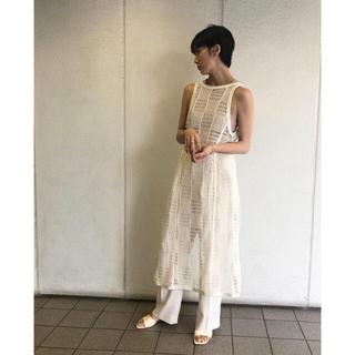 トゥデイフル(TODAYFUL)のtodayful Mesh Apron Dress メッシュエプロンドレス(その他)