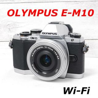 OLYMPUS - ❤️シャッター回数わずか39枚❤️Wi-Fi搭載❤️OLYMPUS E-M10