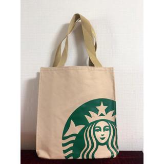 Starbucks Coffee - 新品!海外発売スタバマルチトートバッグ中サイズモカ