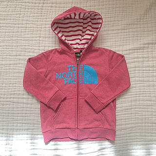THE NORTH FACE - ノースフェイスキッズ パーカー 110 ピンク 女の子