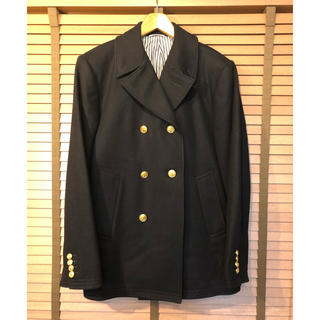 THOM BROWNE - トムブラウン 金ボタンカシミヤ混Pコート THOM BROWN 日本製