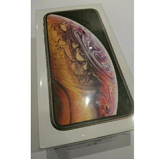 iPhone - 【新品・未使用】iPhone xs GOLD 256GB ドコモ simフリー