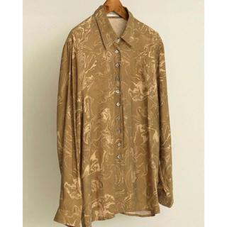 TODAYFUL - vintage marble shirt  ヴィンテージマーブルシャツ