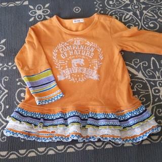 アコバ(Acoba)のアコバ カットソー 95-100サイズ(Tシャツ/カットソー)