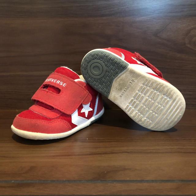 CONVERSE(コンバース)のコンバース 幼児サイズ13cm キッズ/ベビー/マタニティのベビー靴/シューズ(~14cm)(スニーカー)の商品写真