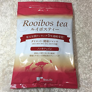 ティーライフ(Tea Life)の【新品未開封】ティーライフ ルイボスティー  2g×101個(茶)