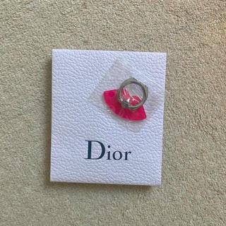 ディオール(Dior)のディオール スマホリング ホルダー ノベルティ バンガーリング(その他)