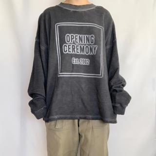 OPENING CEREMONY - OPENING CEREMONY ロゴスウェット