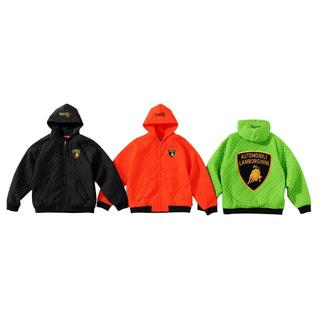 Supreme - Supreme Lamborghini Hooded Work Jacket