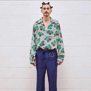 UNUSED - UNUSED rose pattern long-sleeve shirts
