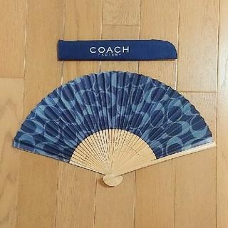 コーチ(COACH)のCOACH、扇子、非売品(和装小物)