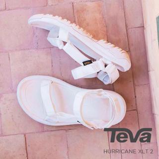 Teva - テバ ハリケーン XLT2 ホワイト 22.0