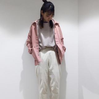 ジーユー(GU)のGU カバーオール+E ピンクS(カバーオール)