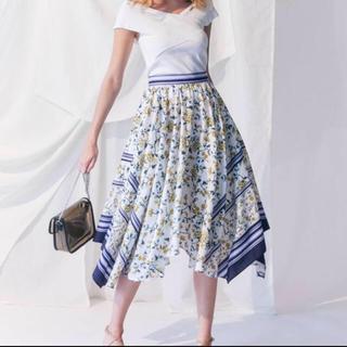MERCURYDUO - マーキュリーデュオ スカーフ柄スカート