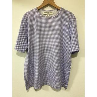 ウィムニールス(WIM NEELS)のWIM NEELS ウィム・ニールス ギンガムチェック Tシャツ(Tシャツ/カットソー(半袖/袖なし))
