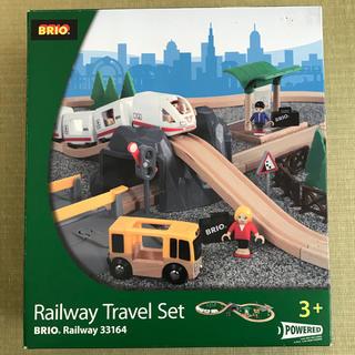 ブリオ(BRIO)のBRIO Railway Travel Set ブリオ 電車セット(電車のおもちゃ/車)