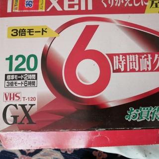 マクセル(maxell)のMaxell 新品 vhsビデオテープ 9本(その他)