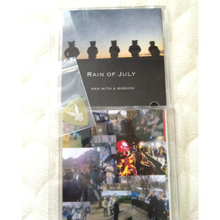 MAN WITH A MISSION デモCD