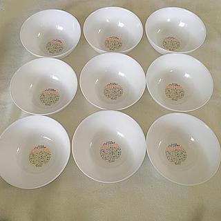 ヤマザキセイパン(山崎製パン)のヤマザキ春のパン祭り 白いお皿  白いモーニングボウル 9枚セット(食器)