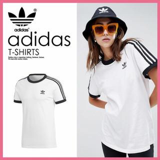 adidas - 【大人気】adidas アディダスオリジナルス 3ストライプ tシャツ☆