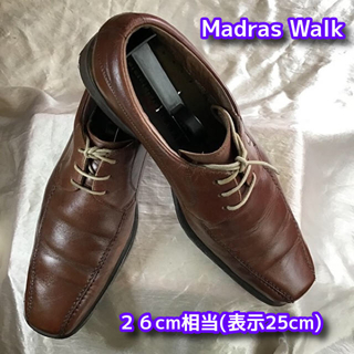 マドラス(madras)のマドラス スワールトゥ ビジネスシューズ (茶)26cm相当 革靴 madras(ドレス/ビジネス)