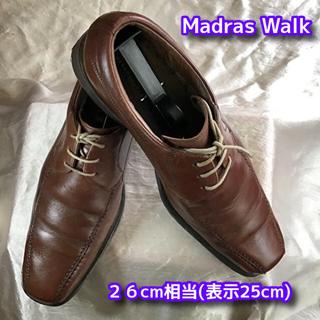madras - マドラス スワールトゥ ビジネスシューズ (茶)26cm相当 革靴 madras
