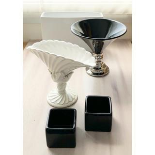 クレイ&東京堂 花器 フラワーアレンジメント用 5個セット(花瓶)