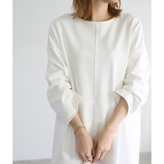 select MOCA スウィッチオーバーロングTシャツ