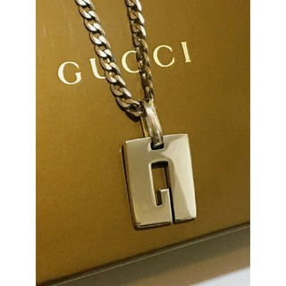 Gucci - GUCCI シルバー ネックレストップ