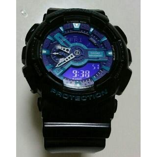 ジーショック(G-SHOCK)の✨電磁波人気っ!!【美品っ✨】G-SHOCK ❤WR20BAR GA-110HC(腕時計(デジタル))