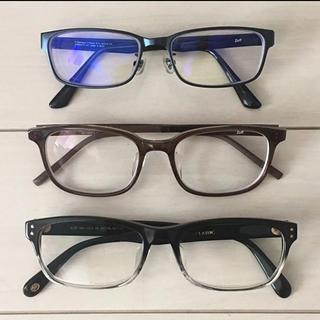 ジンズ(JINS)のJINS・zoff メガネ 3本セット(サングラス/メガネ)